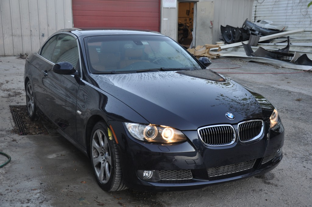 2009 BMW 335i Front Hard Hit