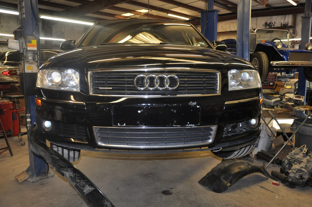 2004 Audi A8 lower front bumper