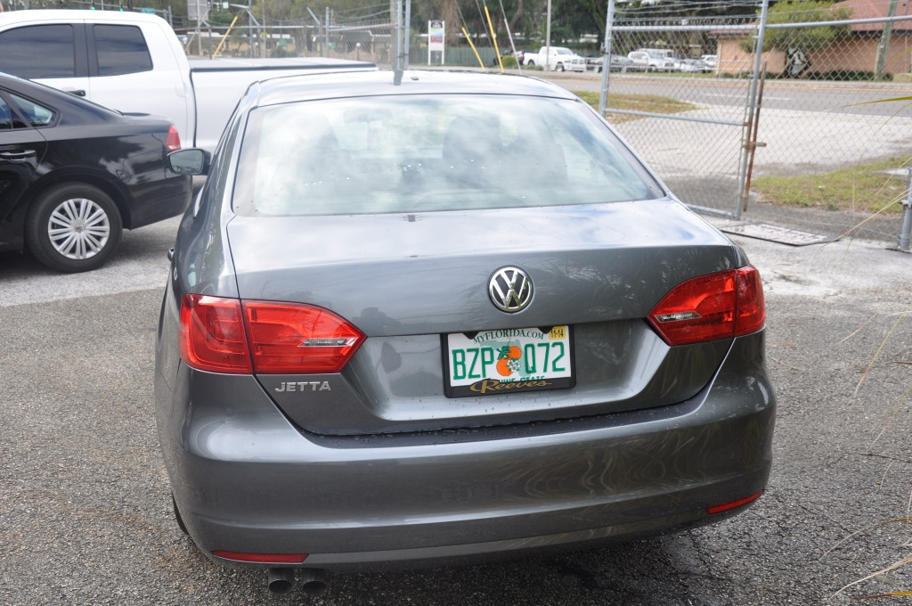 2013 Volkswagen Jetta Rear Damage