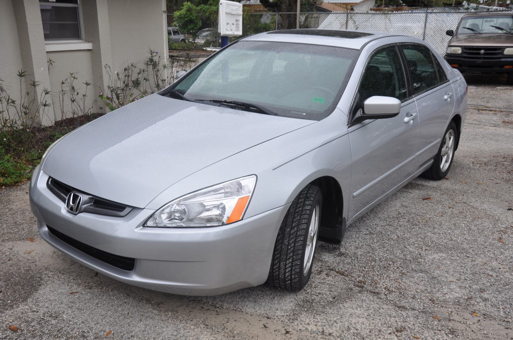 2004 Honda Accord After Front End Collision Repair