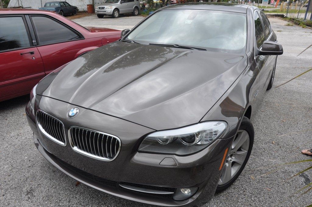 2013 Bmw 535i front repairs