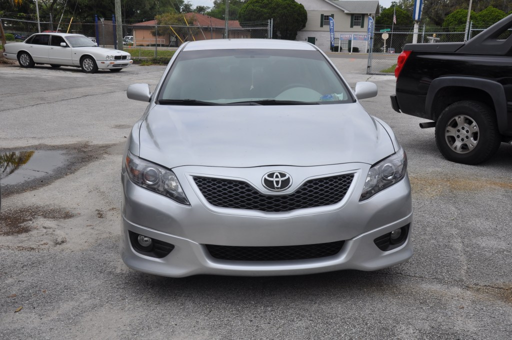 2010 Toyota Camry front end collision repaired
