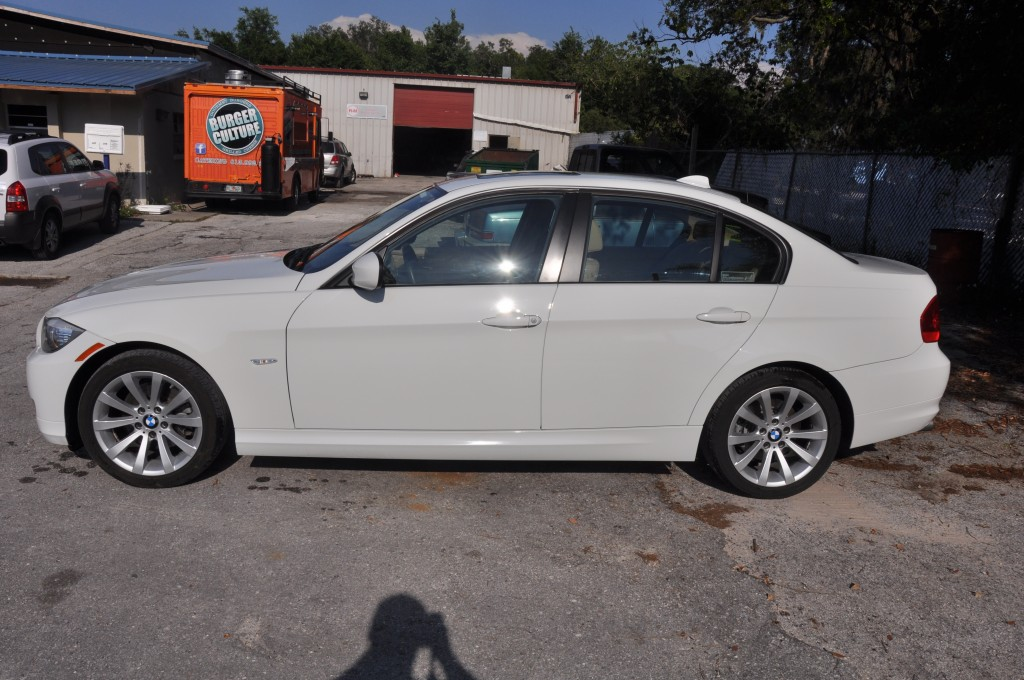 2011 BMW 328i after collision repairs