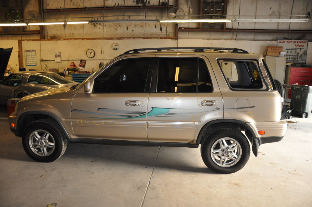 2001 Honda CRV after