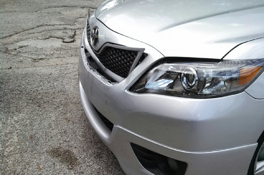 2010 Toyota Camry front end collision