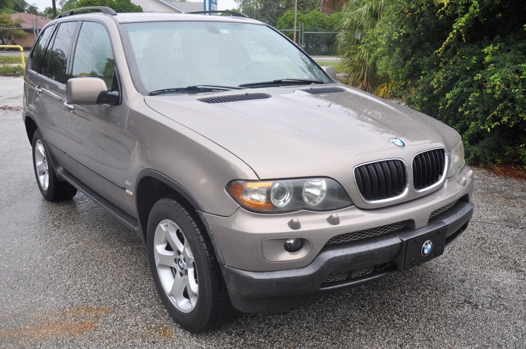 2004 BMW X5 after