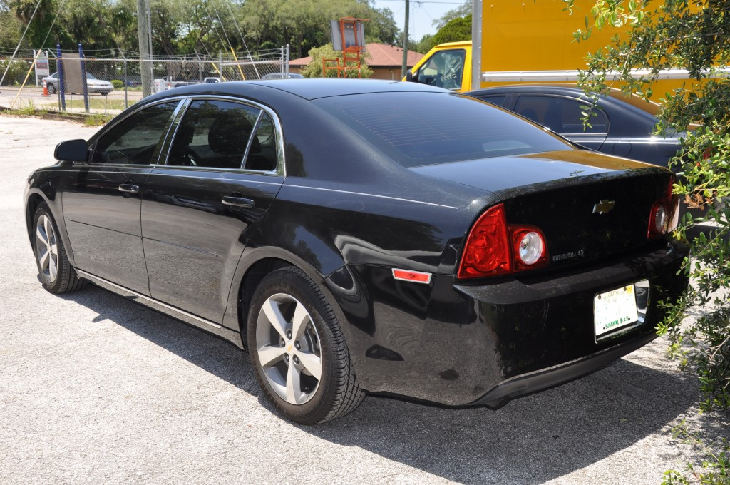 2011 Chevrolet Malibu left rear quarter panel
