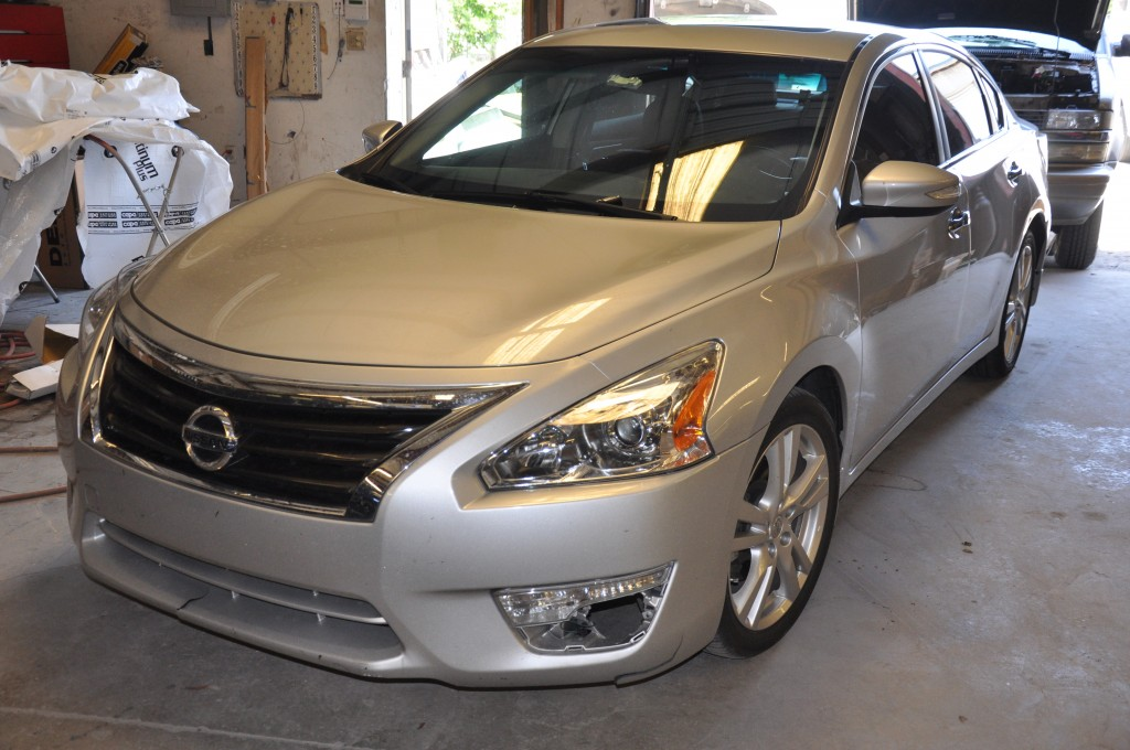 2013 Nissan Altima collision front