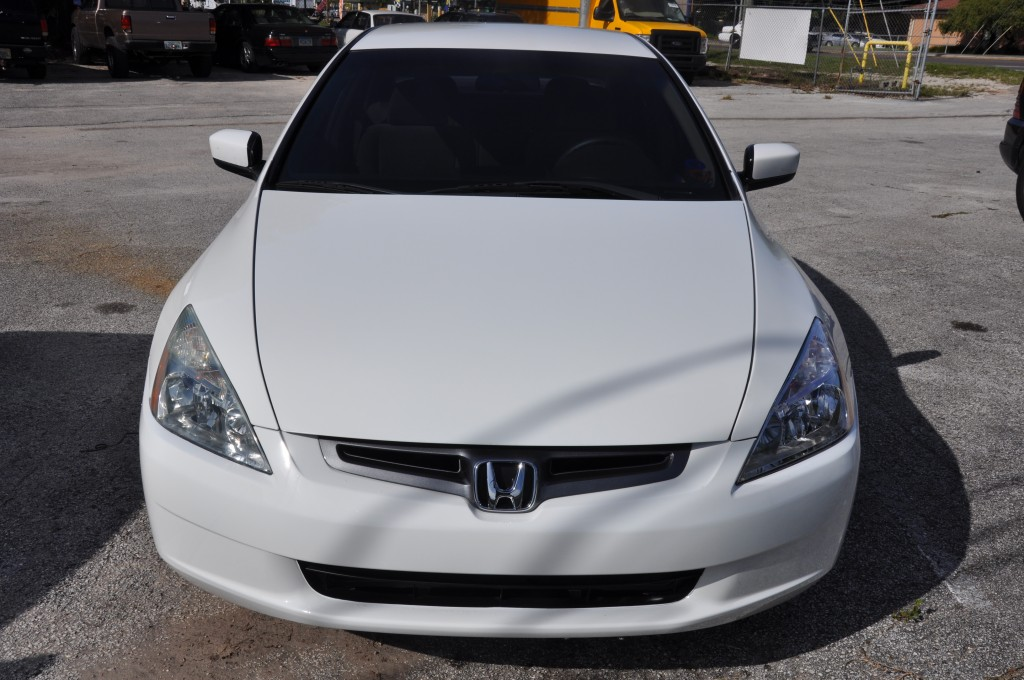 2003 Honda Accord front end repaired