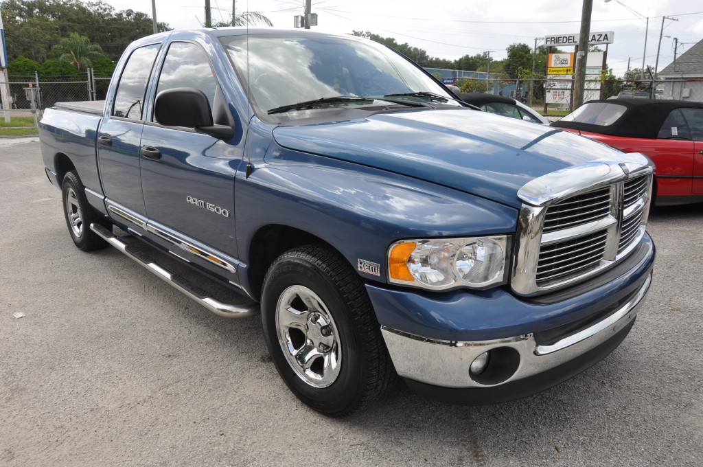 2005  Dodge Ram 1500 after right side repairs
