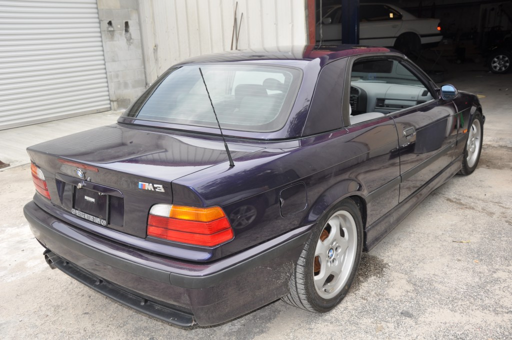 1998 BMW M3 hard top painted