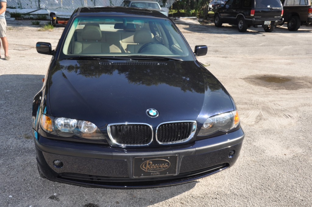 2004 BMW 325i Fire front view
