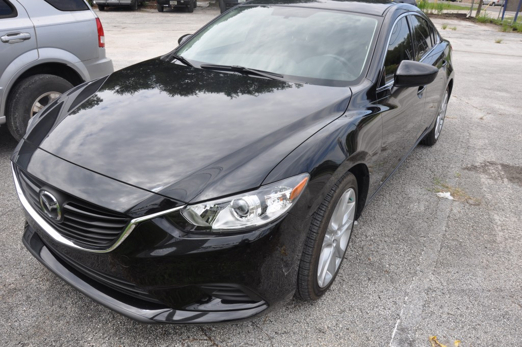 2014 Mazda 6 Touring front left collision