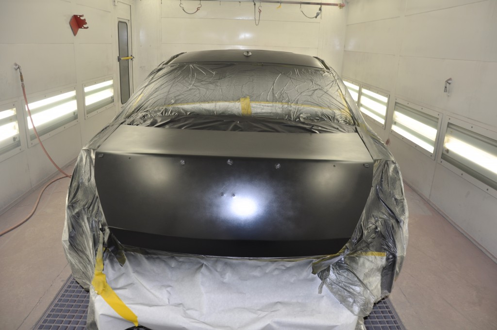 2009 Accord EX Coupe paint booth