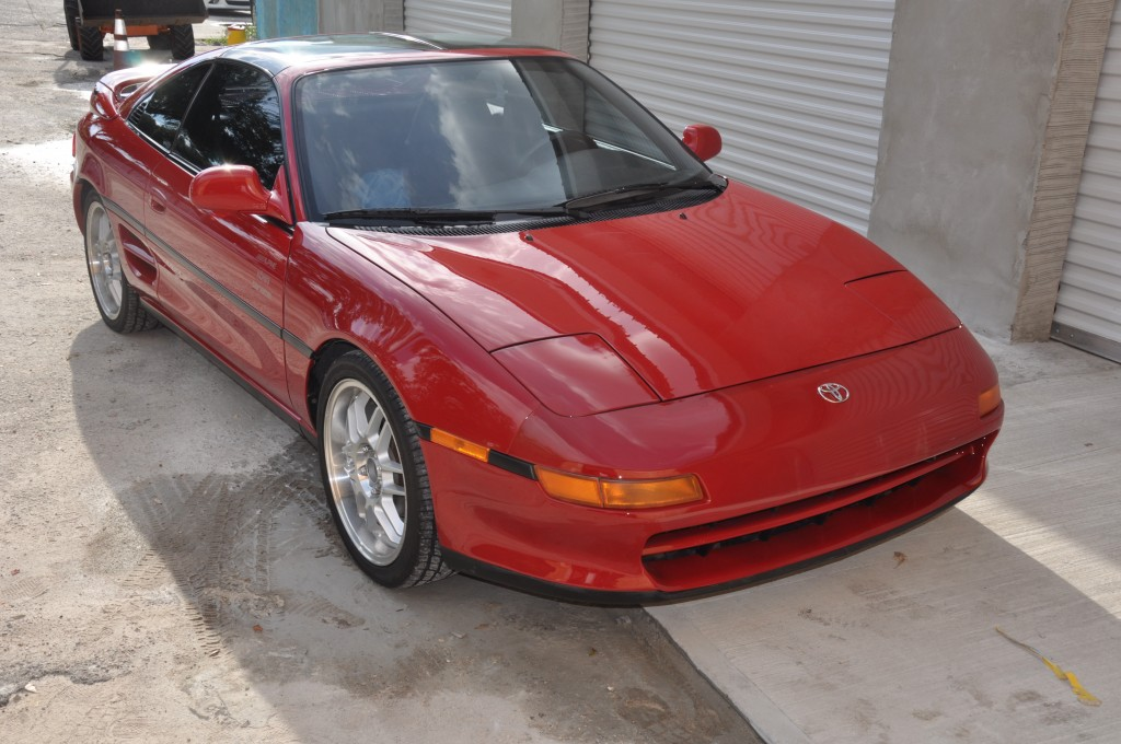 1991 Totyota MR2 collision repair