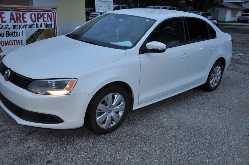 2011 Volkswagen Jetta Auto Body Repaired