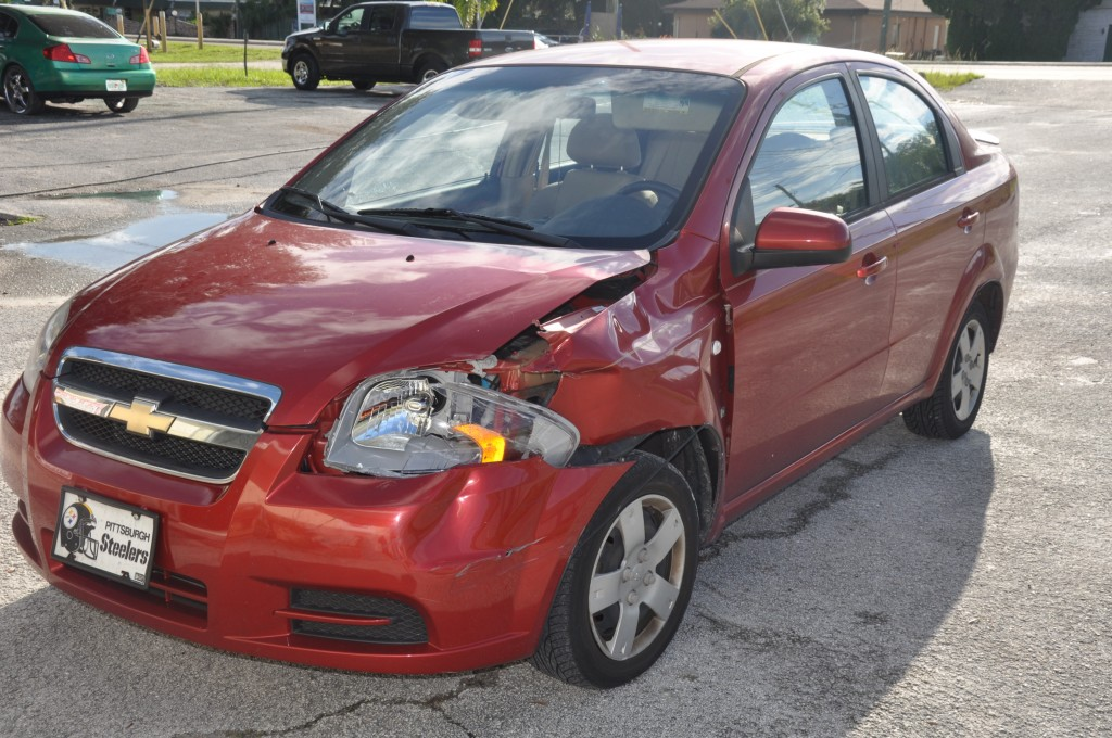 2008 Chevrolet Aveo Front Collision Repairs