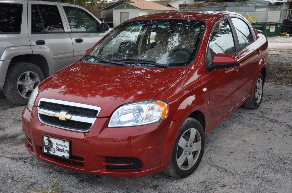 2008 Chevrolet Aveo After Auto Body Repair