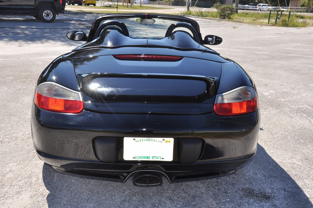 2003 Porsche Boxter customized