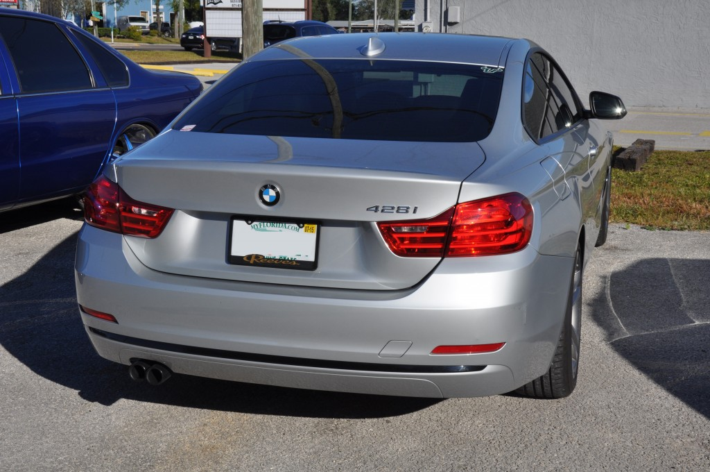 2014 BMW 428i rear bumper repair