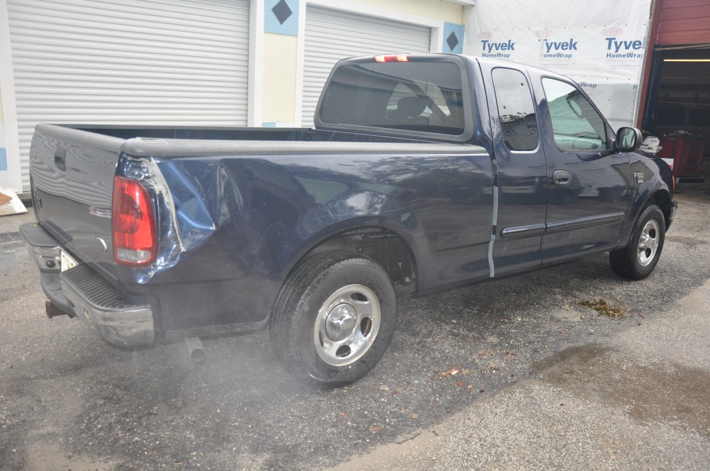 2004 Ford F150 bed side collision repair