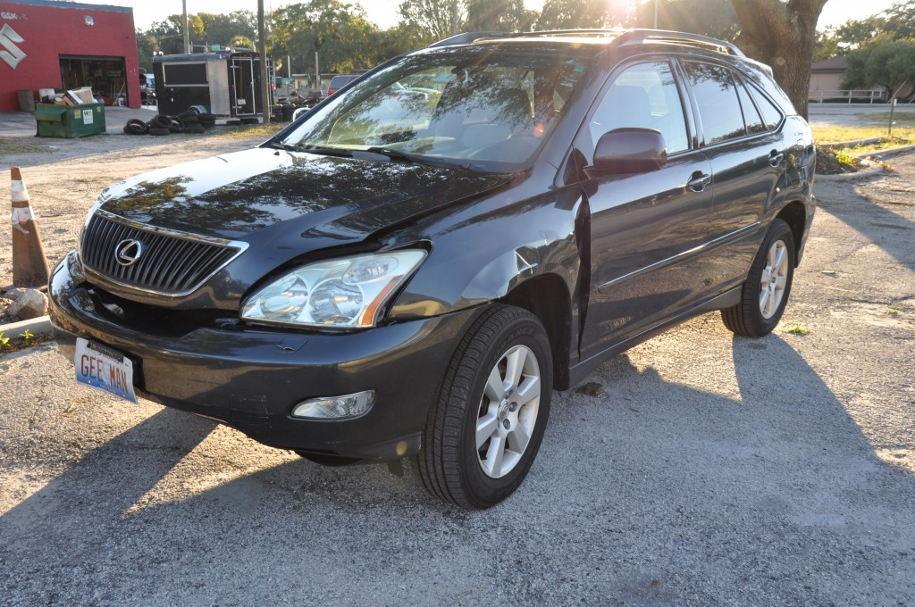 2004 Lexus RX330 front left collision repair