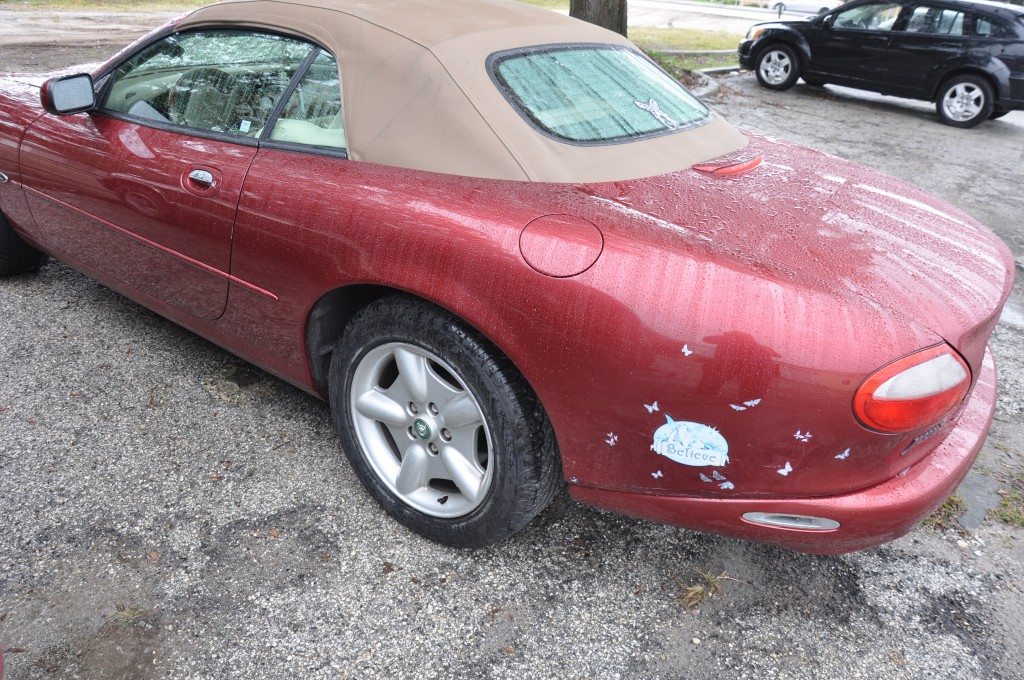 1997 Jaguar XK8 quarter panel