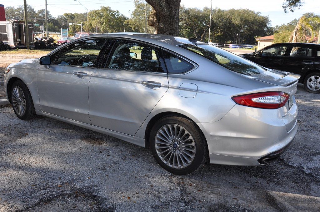 2015 Ford Fusion rear bumper repair