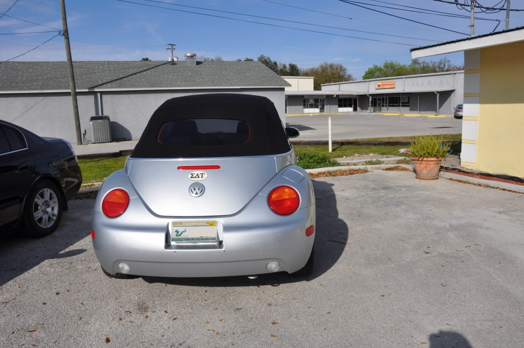 2005 Volkswagen Beetle rear collision