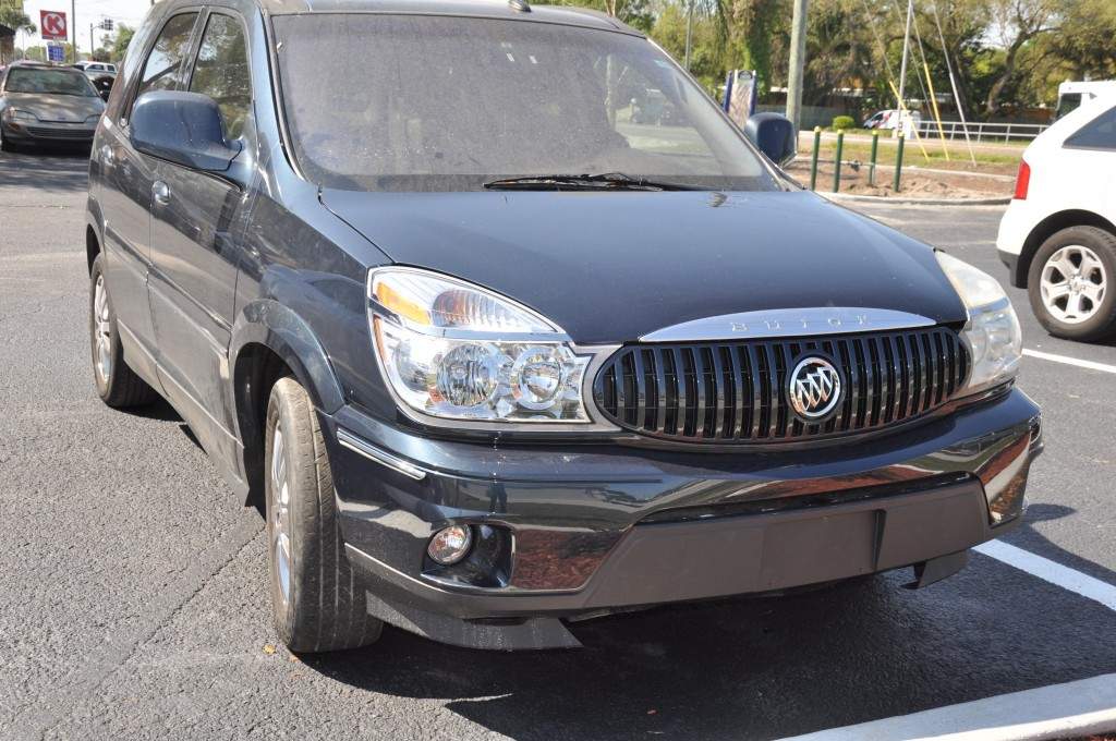 2004 Buick Rendezvous front collision repair