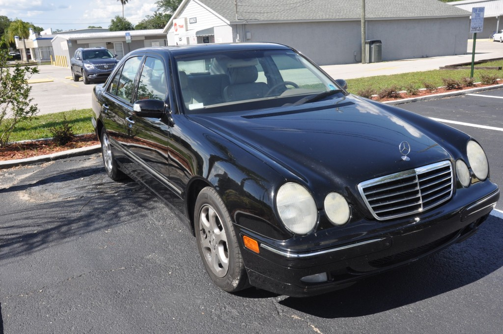 2002 Mercedes E320 repair side