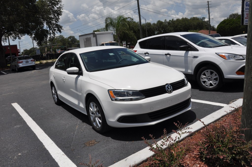2012 Volkswagen Jetta after doors replaced