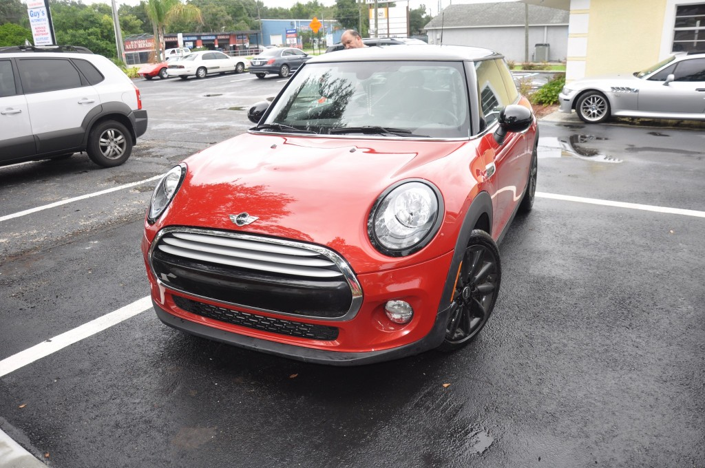 2015 Mini Cooper repair front bumper