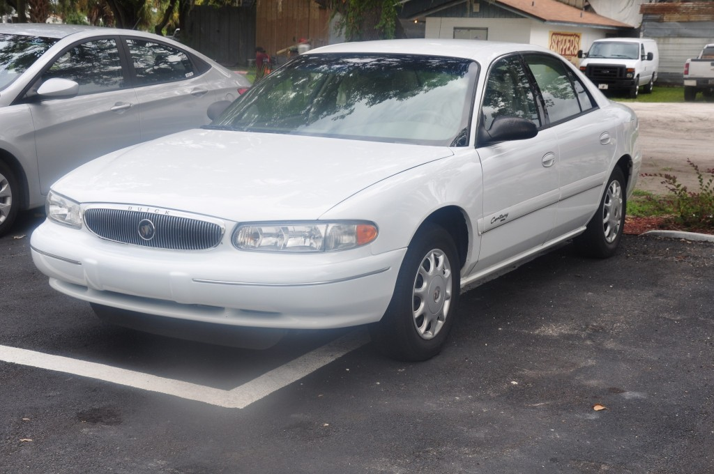 Buick Century after repairs
