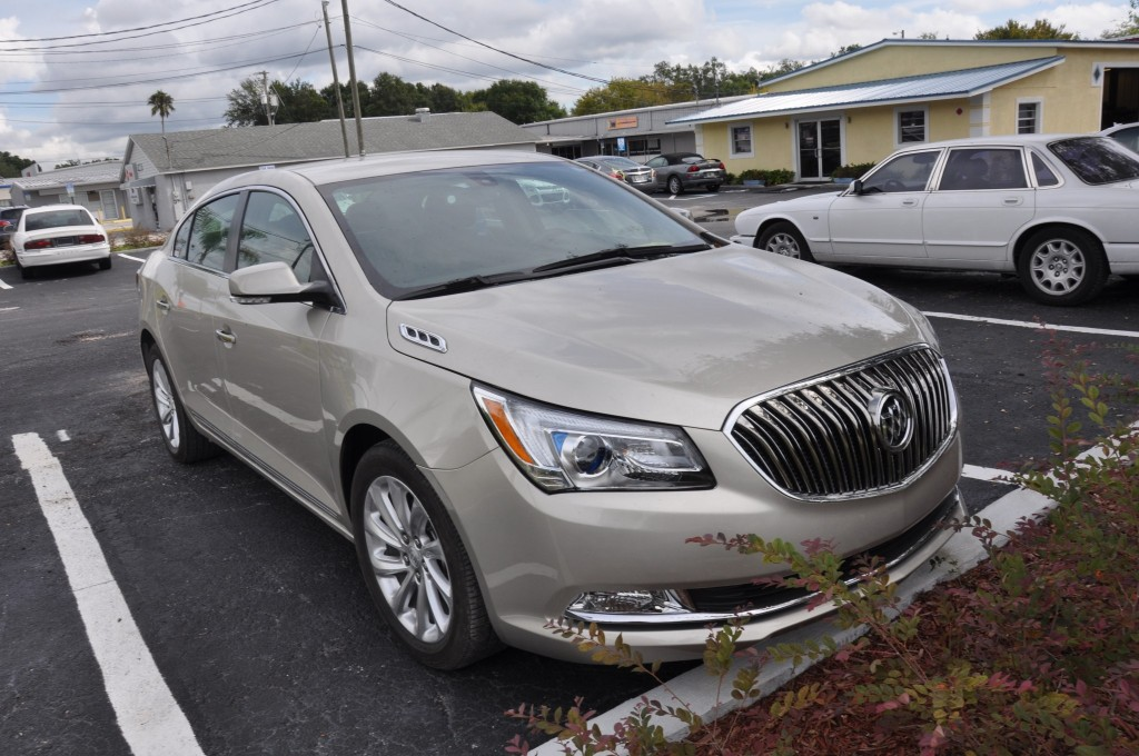 15 Buick LaCross collision repaired