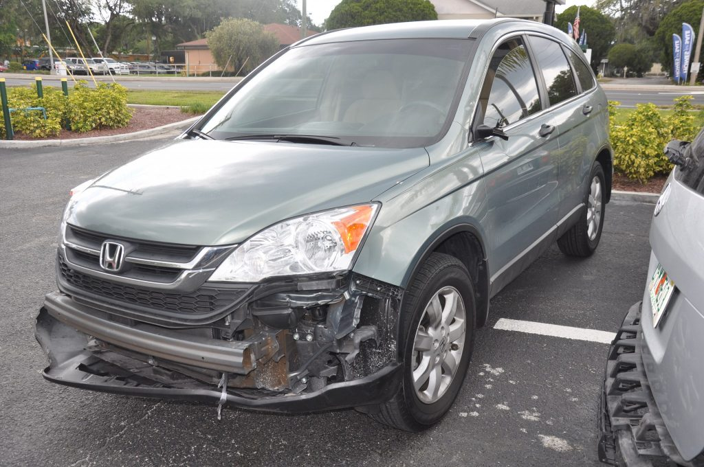 2011 Honda CR-V Hit in the left front