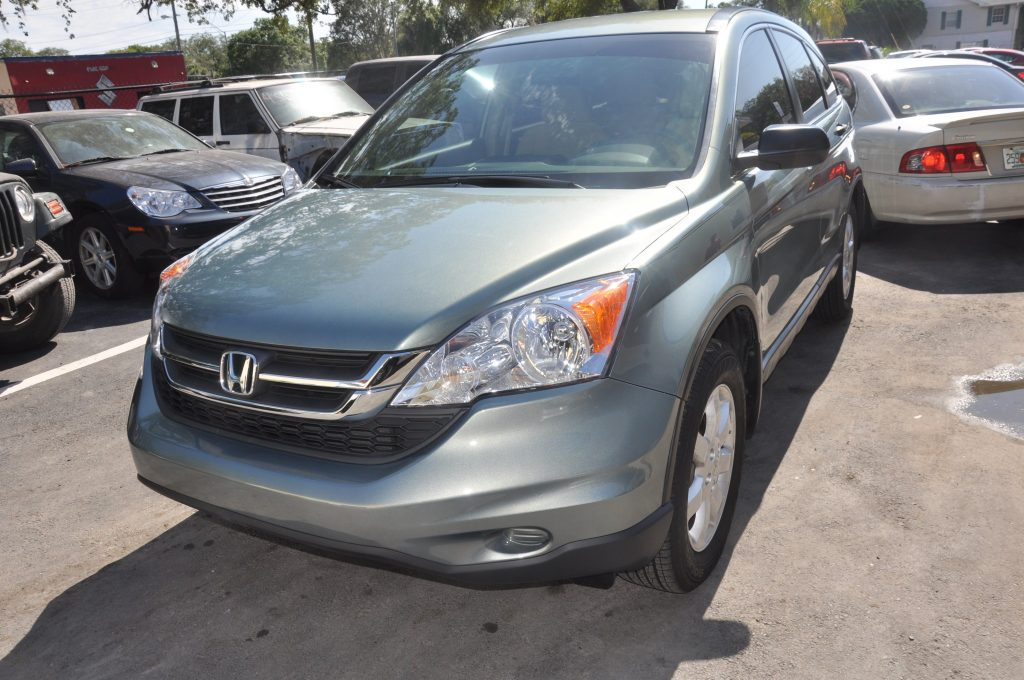 2011 Honda CR-V after front left repair