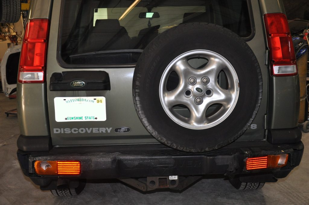 01 Landrover Discovery II rear bumper
