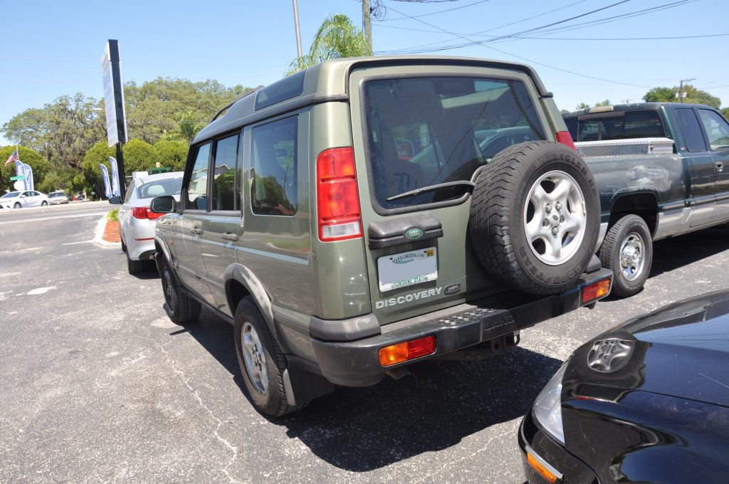 01 Landrover Discovery II after rear bumper