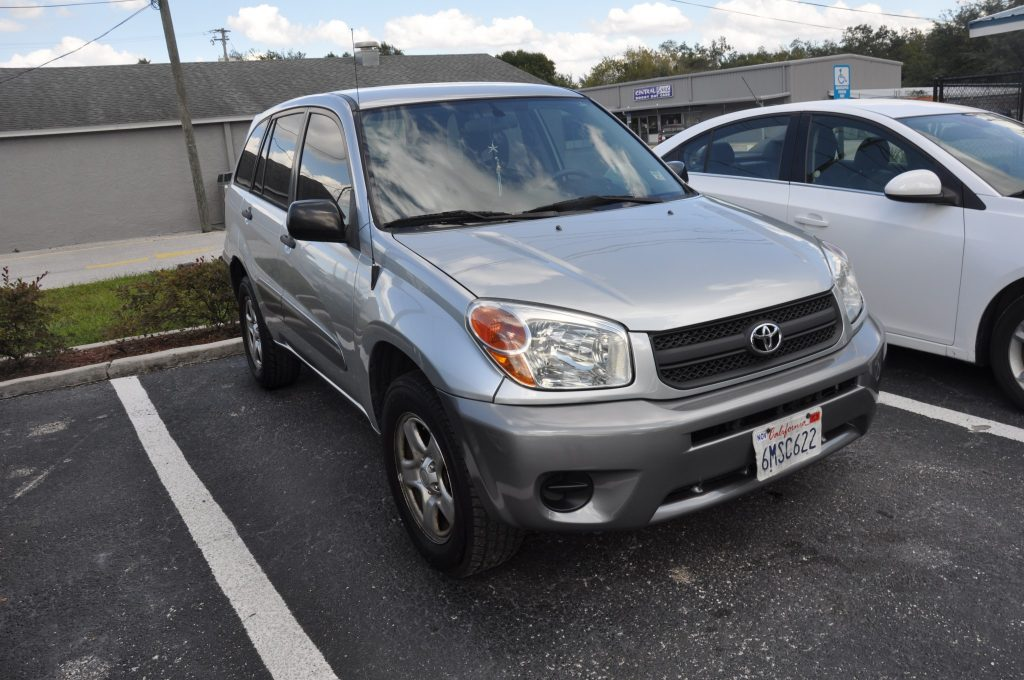 2005 Toyota Rav 4 After the front collision repairs