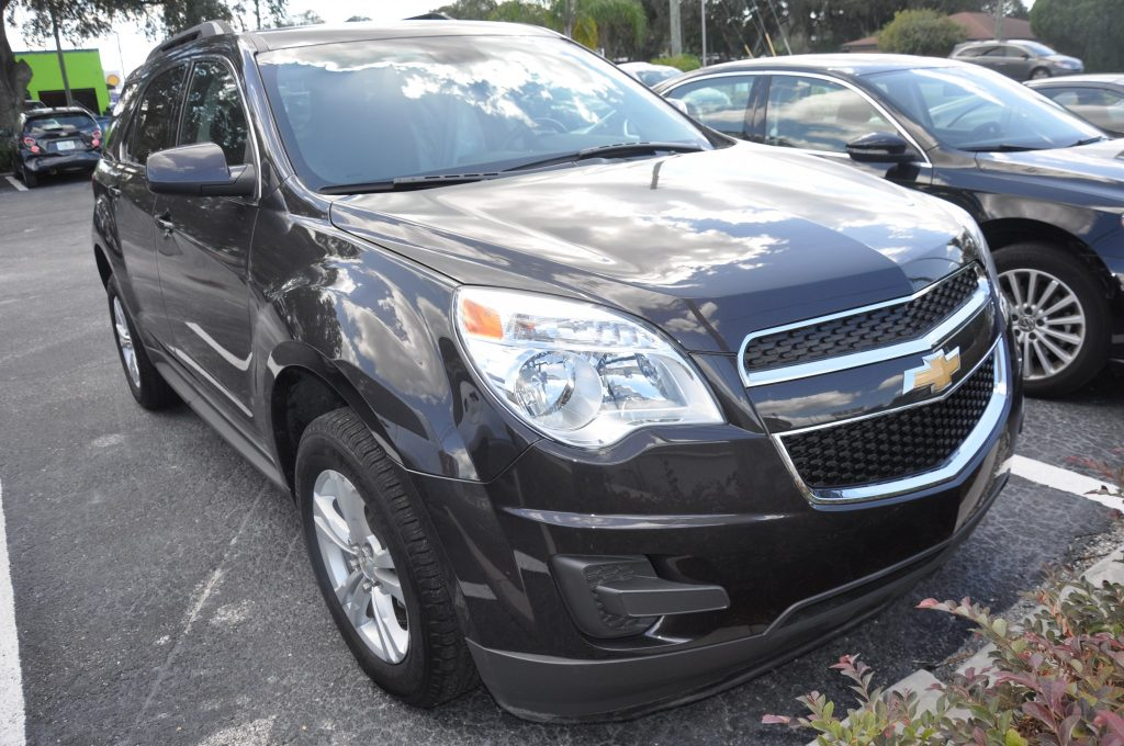 2013 Chevrolet Equinox front clip installed