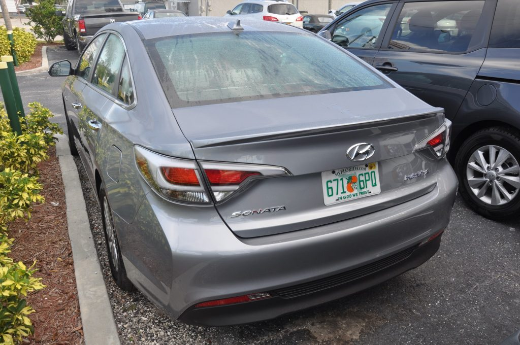 2016 Hyundai Sonota after collision repairs