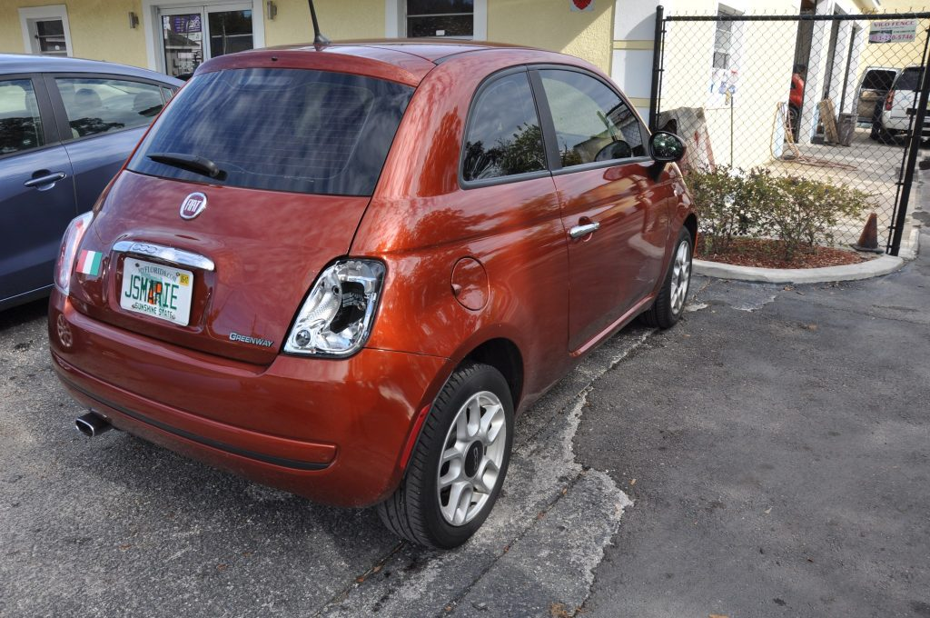12 Fiat 500 pop collision center repairs