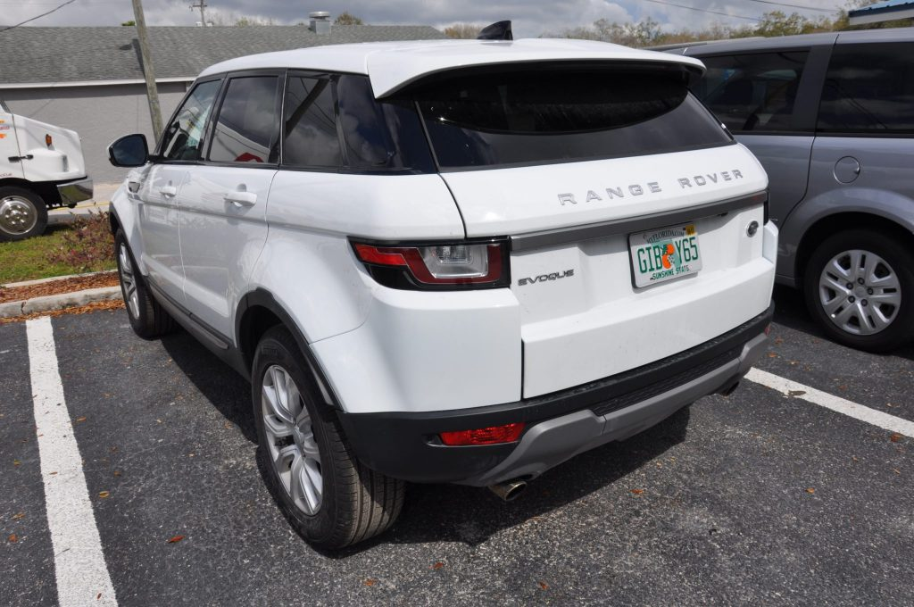 2016 Land Rover Range Rover collision repaired